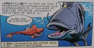 Read more about the article Presse : les animaux marins en BD